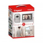 Kit videointerfon cu ecran tactil 7'' Legrand 369320