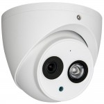 Camera dome HDCVI Dahua HAC-HDW1220EM-A 2MP, 2.8mm / 3.6mm, Smart IR 50m, IP67, microfon incorporat