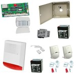 KIT alarma cu sirena de exterior DSC NEO-2016LED EXT SIR
