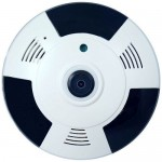 Camera Home Use PXW YYZ10Q-360, CMOS 1MP HD 720p, Wireless, Panorama 360 grade, Audio bidirectional Home Use